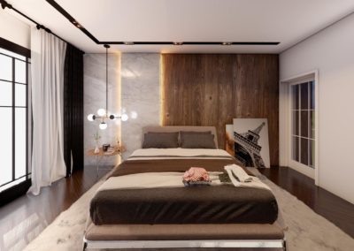 Tipi B dhome gjumi Render 3