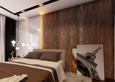 Tipi B dhome gjumi Render 4