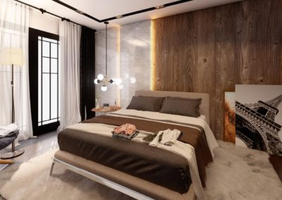 Tipi B dhome gjumi Render 6