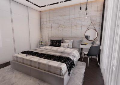 Tipi C Dhome Gjumi - Render 10