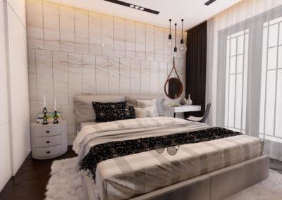 Tipi C Dhome Gjumi - Render 11
