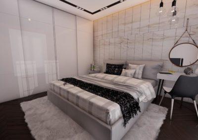 Tipi C Dhome Gjumi - Render 12