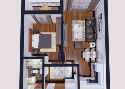 Dodona Tipi B 51.4 m2