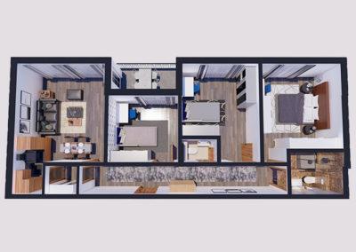Dodona Tipi D 62.5 m2