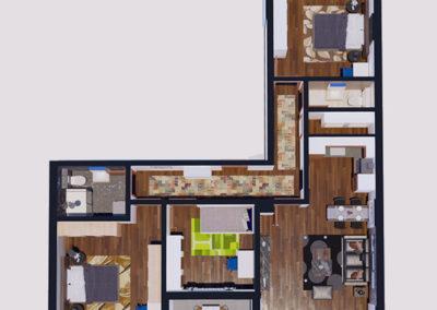 Dodona Tipi E 100.4 m2